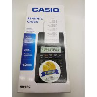 Kalkulator Casio Portable Printer HR - 8 RC Reprint And Check