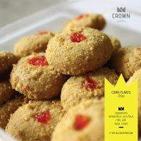 Crown Pastry Kue Kering Corn Flakes