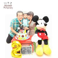 Chocolate Photography - Package Birthday Photo + Video