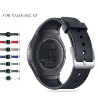 [globalbuy] NOTO Sport Silicone Band For Smart Samsung Gear S2 Watch Band Stylish Silicone/3248581