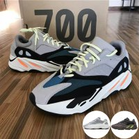 700 Runner 2019 New Kanye West Mauve Wave Mens Women Athletic Best Quality 700s Sports Running Sneakers Designer Shoes With Box Mens US9.5(EUR43 1/3) With Original Box #05 Static