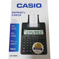 Casio HR 100 RC Kalkulator Print Struk / Casio HR 100 RC