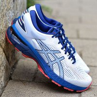 2019 New ASICS GEL-KAYANO 25 Mens Outdoor Jogging Sneakers Asics White Dark Blue Red Original Designer Running Shoes US 7.5-11 Men-US9.5/EUR43.5 Black