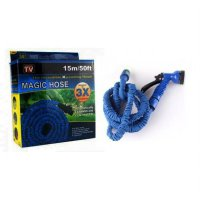 Xhose Selang Air Expandable Hose 15 Meter 50 Feet Ft Elastis Fleksibel Include Kepala Semprotan
