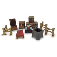 [poledit] Home Comforts Minecraft Papercraft Utility Pack Over 30 Pieces New (T1)/11982652