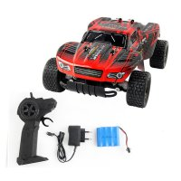 Jule RC Car Electric Toys Remote Control Newest Boys RC Car 2.4G Shaft Drive Truck Speed 20KM Control Remoto Drift Car 1:18 battery +NB Blue