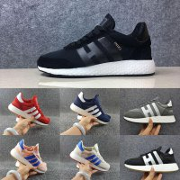 Size 36-45 Iniki Runner Running Shoes For Men Women Real Top Quality Original Black White Iniki Runner Designer Sport Sneakers Trainers Shoe men US 7=40 9