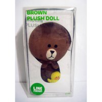 Boneka Brown Line Original LINE Brown Plush Doll 35 Cm Limited Edition