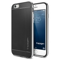 SGP Neo Hybrid Case for iPhone 6 Plus (OEM) - Silver