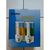 Soap Dispenser KRISBOW Double / tempat sabun cair 2x 380ml