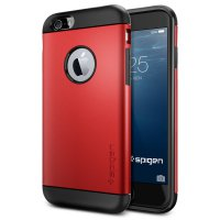 SGP Slim Armor Plastic + TPU Combination Case for iPhone 6 Plus (OEM) - Red