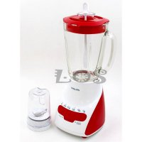 Philips Blender HR-2116/RED (Gelas) (00040.00023)