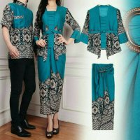 Baju Batik Couple/Couple Family/Pakaian Couple Muslim Maulana Tosca