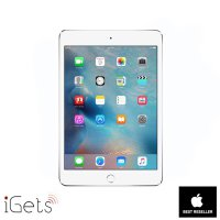 iPad Mini 4 128GB Wifi + Cellular Silver ( Garansi 1 Tahun )