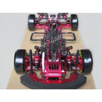 [globalbuy] SAKURA Alloy & Carbon D3 CS 3R OP RC 1/10 4WD Drift Racing Car Frame Kit 1:10 /2738111