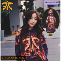 Hoodie Fnatic Demon / Jaket Fnatic Demon Dota2 CSGO