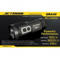 JETBeam SRA40 Senter LED CREE XM-L2 960 Lumens