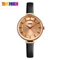 SKMEI Jam Tangan Analog - 1184CL - Black Gold