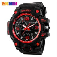 SKMEI Jam Tangan Analog Digital - AD1155 - Black/Red