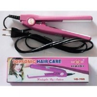 Catok Mini Haidi Catokan Rambut Topsonic Hair Care Portable Praktis Best Seller
