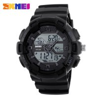 SKMEI Jam Tangan Digital Analog - 1189 - Black
