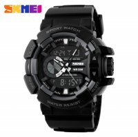 SKMEI Jam Tangan Digital Analog - AD1117 - Gray