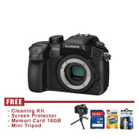 PANASONIC LUMIX DC-GH4 BODY ONLY - HITAM - FREE Accessories