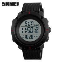 SKMEI Jam Tangan Digital - DG1213 - Black/Red