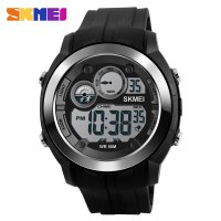 SKMEI Jam Tangan Digital Sporty - DG1234 - Black