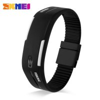 SKMEI Wristband Jam Gelang LED - 1099A - Black