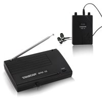 Takstar UHF Wireless Monitor System 50m In-Ear Stereo Headphones