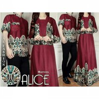 Batik Alice Merah Couple