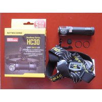NITECORE HC 30 - Head Lamp - Senter Helm - Hiking - Climbing - Outdoor