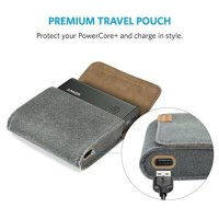 Powerbank ANKER PowerCore+ 10050mAh Quick Charge 2.0 & Pouch(A1310012)