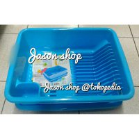 Rak Piring Green Leaf + Tray Joy 1704/Rak piring+Alas green leaf 1704