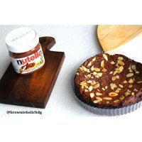 BROWNIES NUTELLA by @Brownieholicbdg