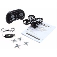 Mini Drone Quadcopter 6 Axis 2.4G 4CH - Black