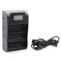 Trustfire Multi Purpose 3 Slot Lithium Battery Charger with LCD