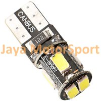 Lampu LED Mobil / Motor / Senja T10 w5w / Wedge Side CANBUS 6 SMD 5630 - White
