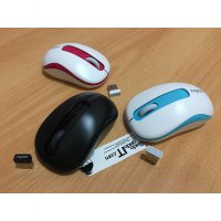RAPOO M10 Wireless Optical Mouse USB With 1000 DPI (BERGARANSI)