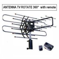 Antenna Tv Rotate 360 With Remote Harga Promo08