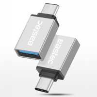 Bastec USB Type C to USB 3.1 OTG - Silver