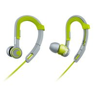 Earphone SHQ3300 ActionFit Sports In-Ear Closed Acoustic Design Allows for High performance sound