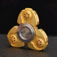 CKF Pepyakka 2.0 Metal Fidget Spinner - Golden