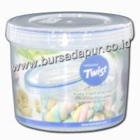 Bursa Dapur Lock & Lock Round Food Container 940 ml (LLS141)