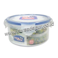 Bursa Dapur Lock & Lock Round Food Container 600 ml (HPL933)