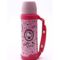 Termos Air Panas Kitty Kucing Besar KT3645 1000 mL Korea BPA FREE