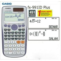 Kalkulator Casio Scientific FX 991ID Plus Baru FX 991 ID Plus