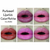 No 91 - 95 Purbasari Lipstik Color Matte