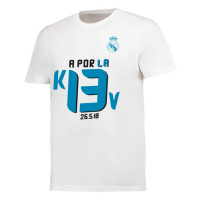 KAOS DISTRO TSHIRT REAL MADRID A PORLA 13 FINAL LIGA CHAMPION 2018 - BAJU BOLA - KAOS BOLA